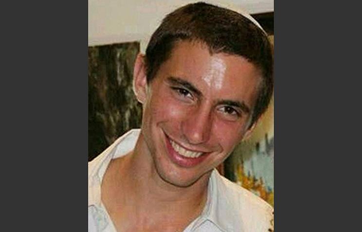 Офицер израильской армии Адар Гольдин, похищенный в секторе Газа