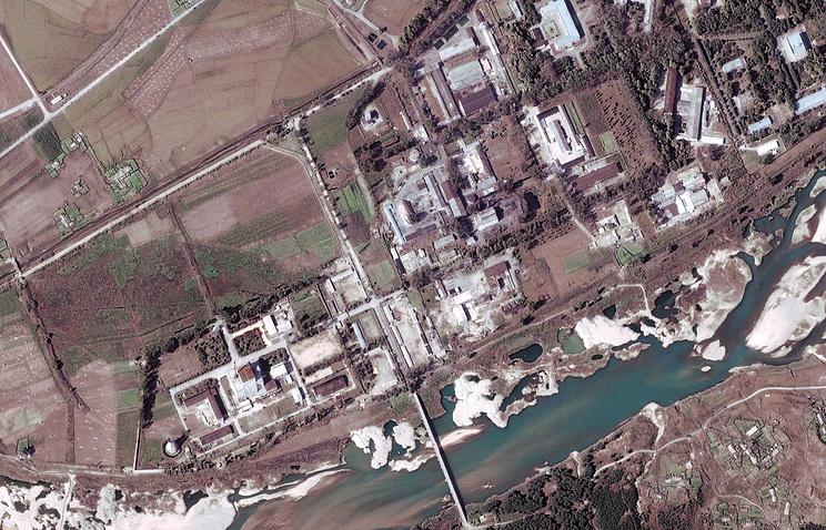 Исследовательский центр Йонбен в Северной Корее