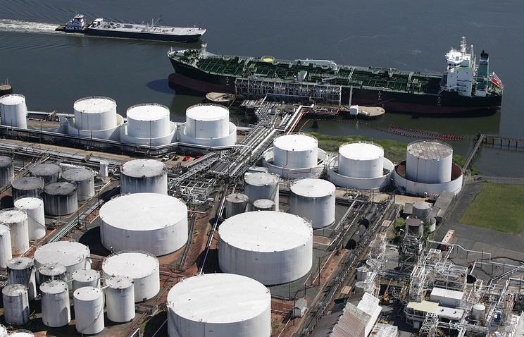 Один из нефтегазовых терминалов компании Kinder Morgan в США