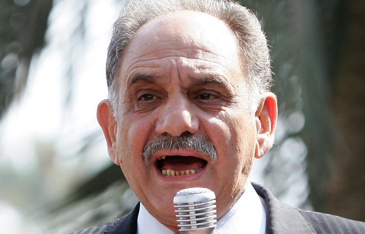 Вице-премьер Ирака Салех аль-Мутлак