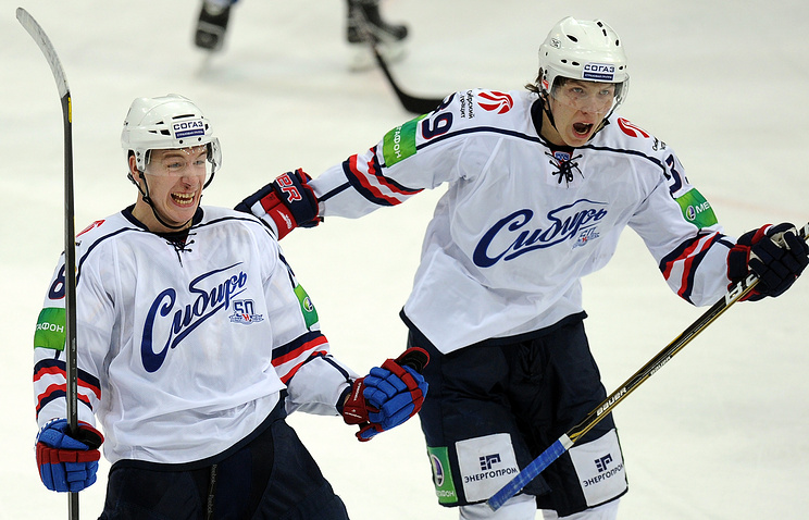 """Хоккеисты """"Сибири"""""""