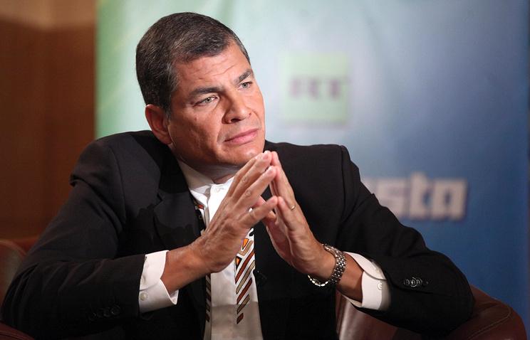 Президент Эквадора Рафаэль Корреа