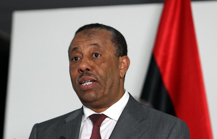 Действующий премьер-министр Ливии Абдалла Абдуррахман ат-Тани