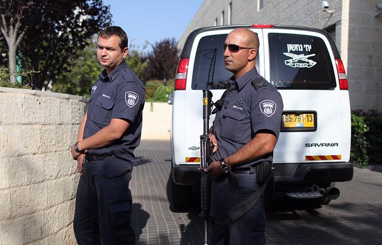 Полицейские в Иерусалиме