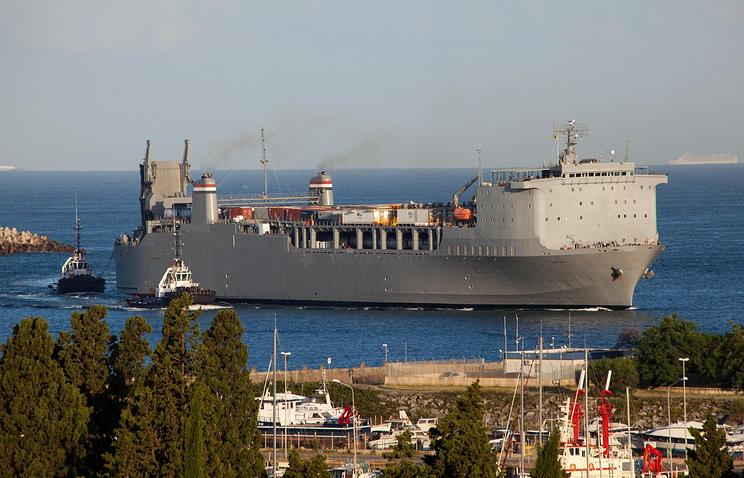 Американское судно Cape Ray