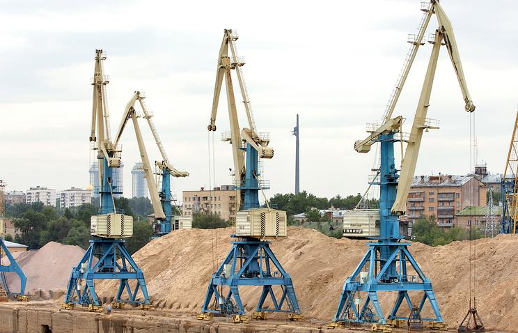 Московский Западный речной порт