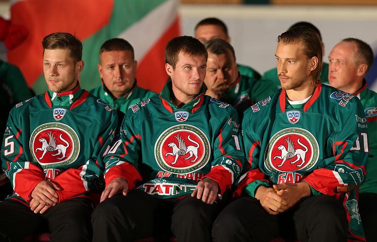"""Хоккеисты """"Ак Барса"""""""