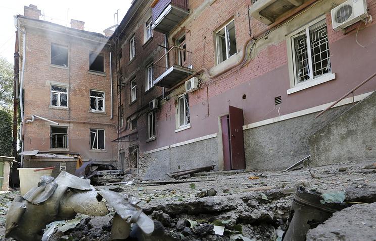 Луганск, архивное фото, июль 2014 год