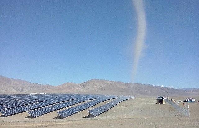 Солнечная электростанция в Кош-Агаче