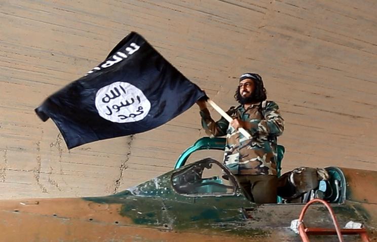 Боевик в Сирии