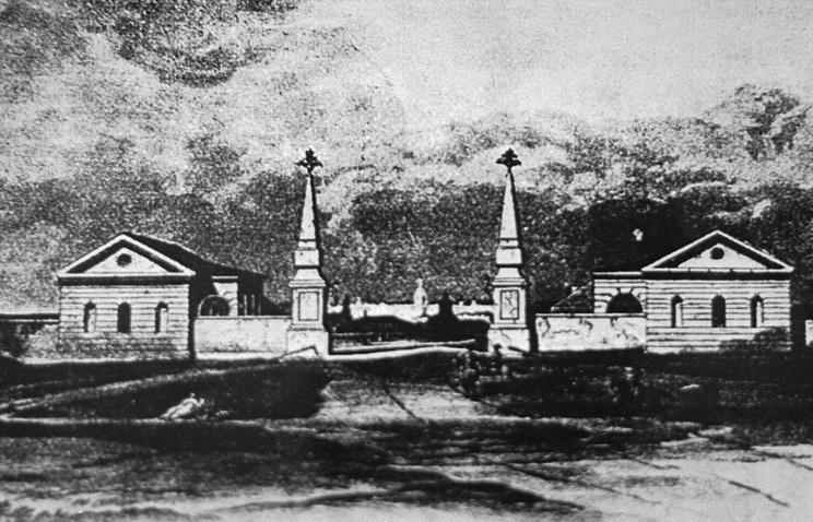 Рогожская застава в Москве. XIX век
