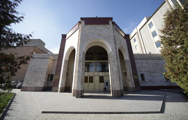 Здание Центра Управления Полетами