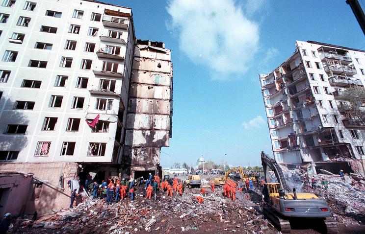 Врыв жилого дома на улице Гурьянова,1999 год