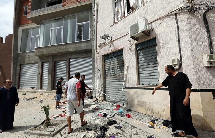 Ситуация в Триполи