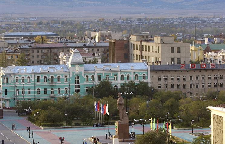 Вид города Чита