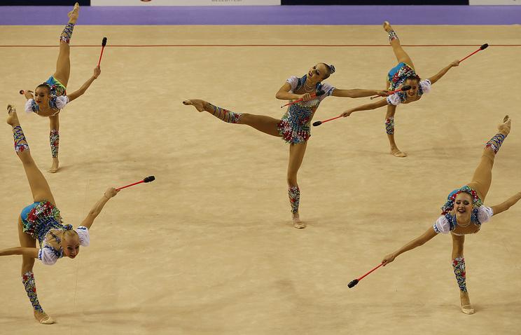 Россиянки на ЧМ по художественной гимнастике