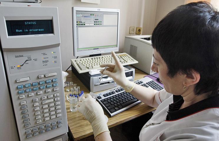 Хроматографические исследования конфискованных наркотических веществ в экспертно-криминалистической лаборатории. Архив