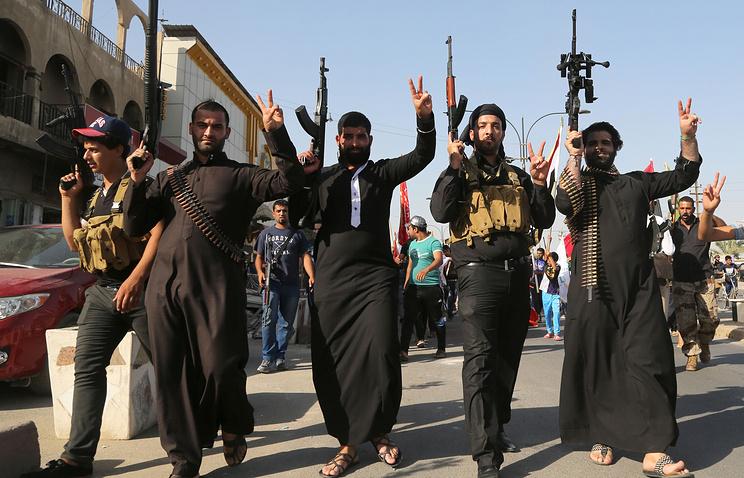 """Террористы """"Исламского государства"""" в Ираке"""