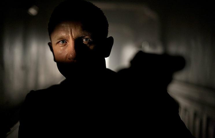 "Кадр из фильма ""007: Координаты Скайфолл"""