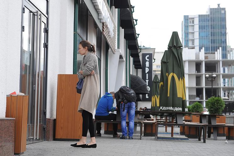 McDonald`s в Екатеринбурге на улице 8 Марта, 8в