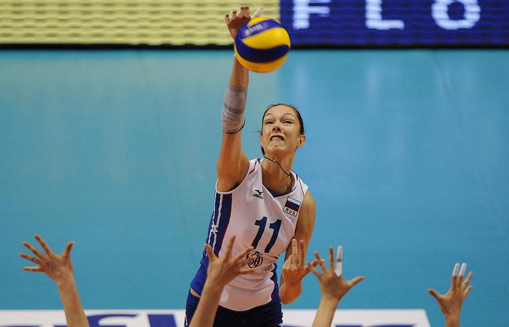 Волейболистка сборной России Екатерина Гамова