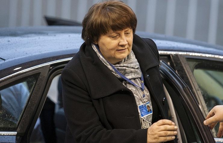 Премьер-министр Латвии Лаймдота Страуюма