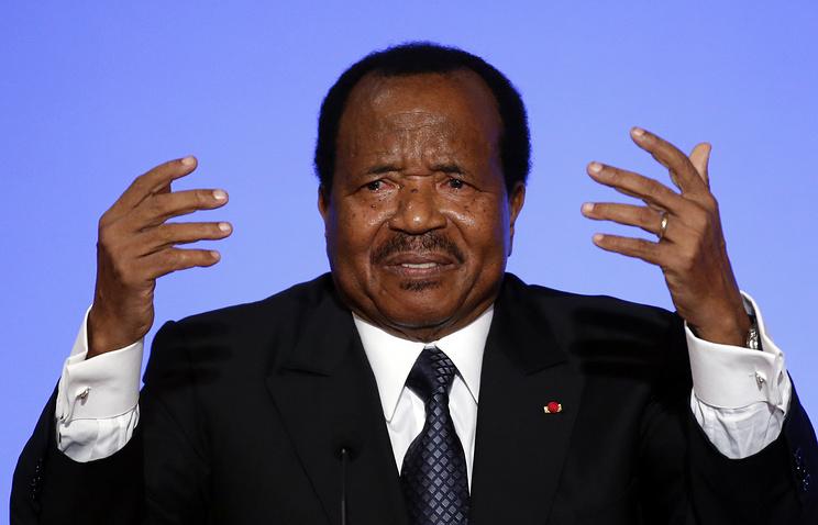 Президент Камеруна Поль Бийя
