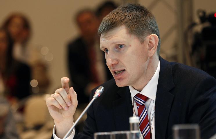 Руководитель департамента экономической политики Москвы Максим Решетников