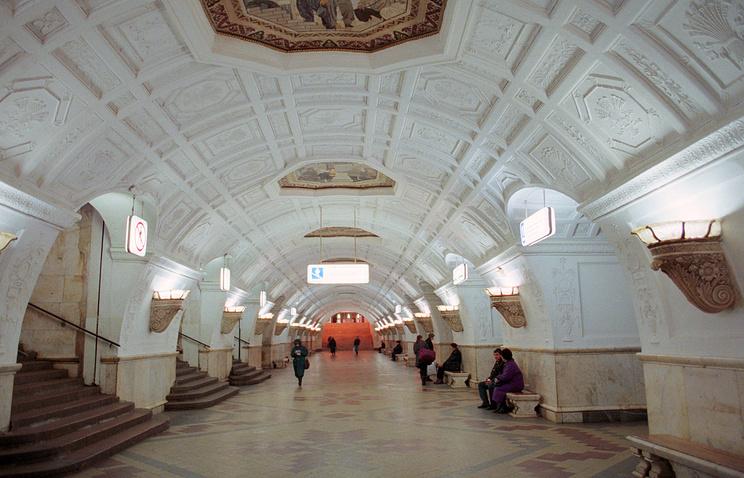 Станция метро Белорусская