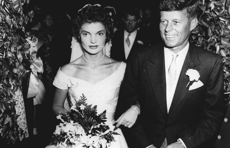 Жаклин Бувье и Джон Кеннеди