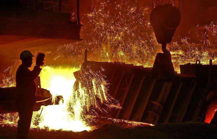 На Нижнетагильском металлургическом комбинате (НТМК)