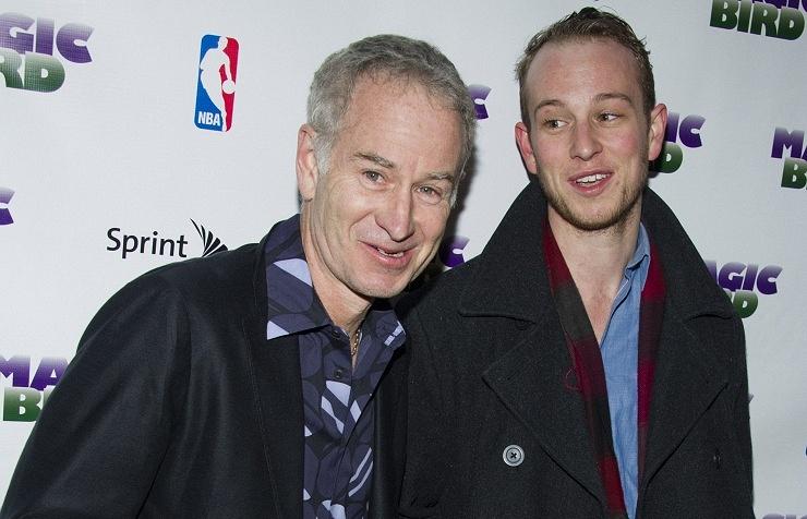 Джон Макинрой с сыном