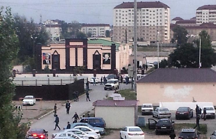 В Грозном при предотвращении теракта погибли четверо полицейских, 5 октября 2014 года