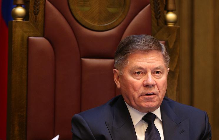 Председатель Верховного суда РФ Вячеслав Лебедев