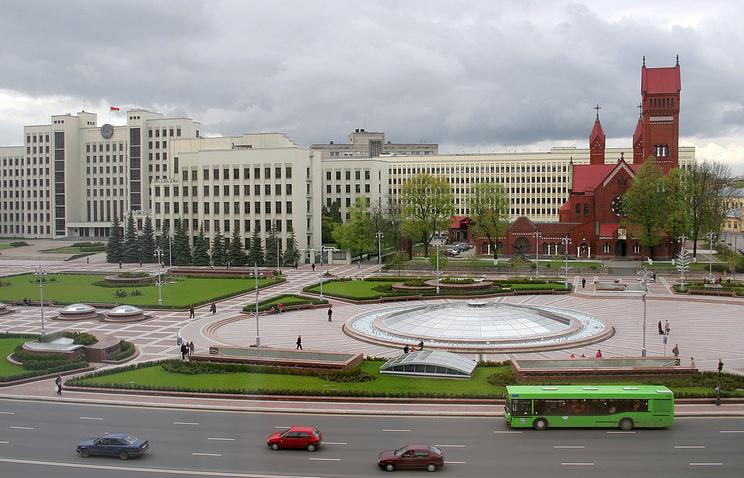 Минск. Площадь Независимости