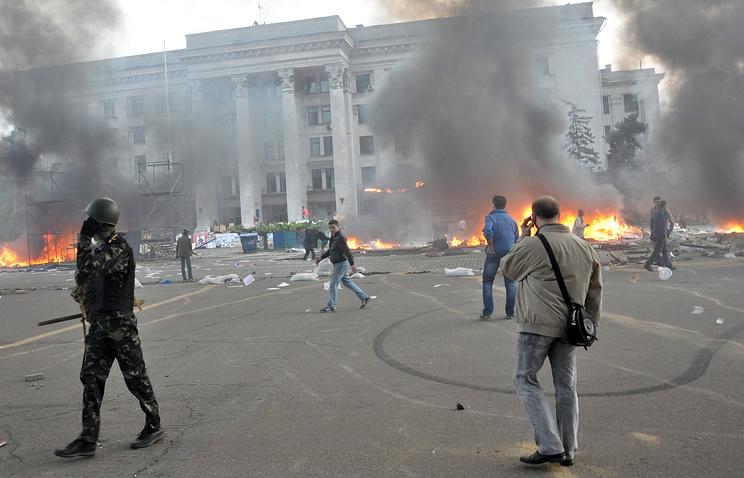 Беспорядки у Дома профсоюзов в Одессе, 2 мая