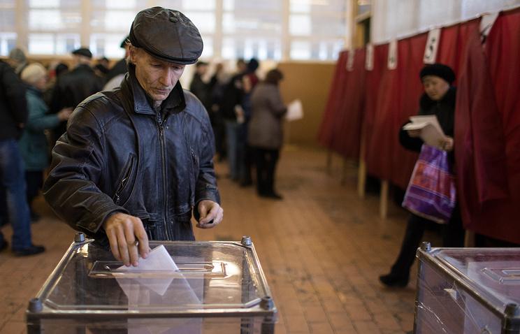 Голосование в Луганске