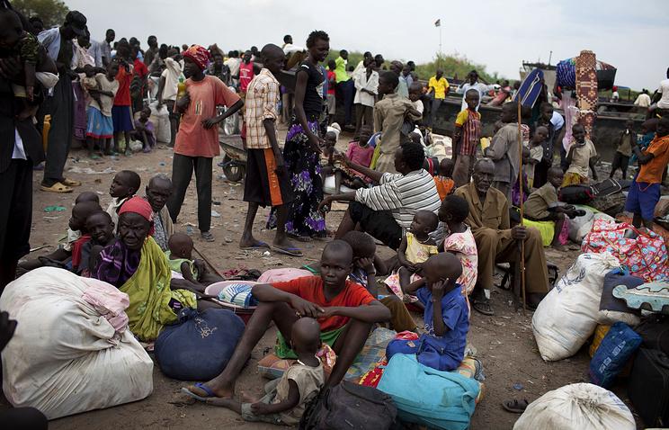 За время боевых действий в Южном Судане погибли тысячи человек, еще более 1,7 млн были вынуждены покинуть свои дома