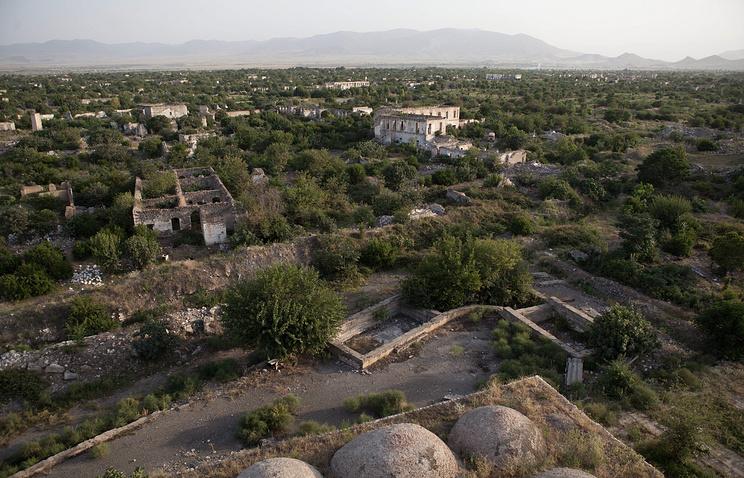 Нагорный Карабах, Агдам