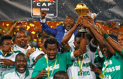 Обладатели Кубка Африки-2013 - сборная Нигерии