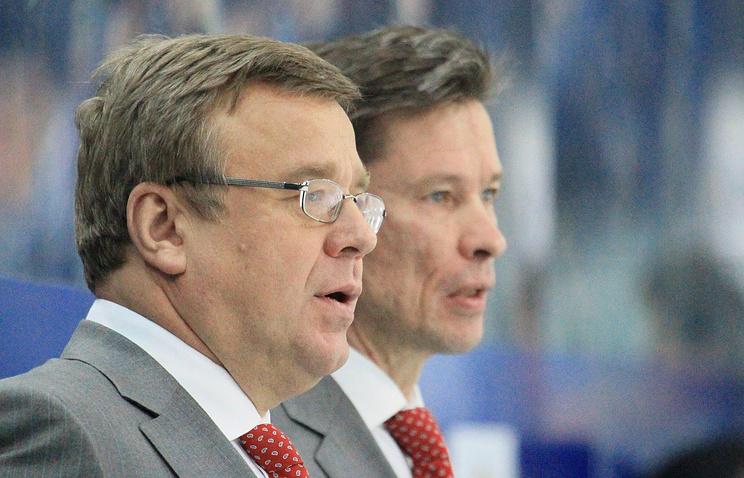 Игорь Захаркин (слева) и Вячеслав Быков
