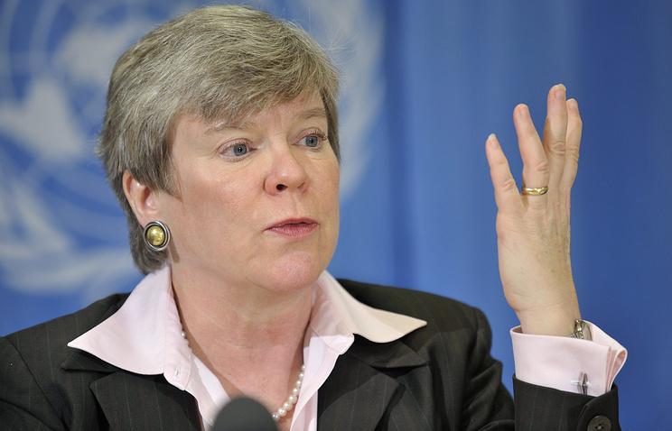 Заместитель госсекретаря США по контролю над вооружениями и международной безопасности Роуз Готтемюллер