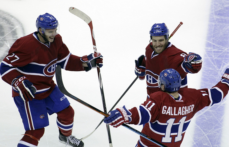 "Хоккеисты ""Монреаля"""