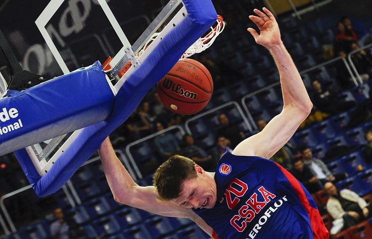 Баскетболист ЦСКА Андрей Воронцевич