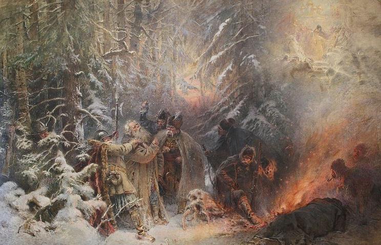 "Константин Маковский ""Иван Сусанин"", 1914 год"