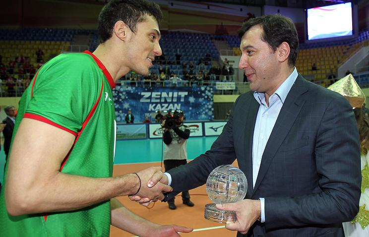 Станислав Шевченко (справа)