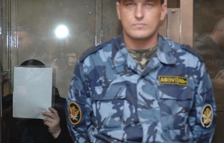 Владимир Барсуков (Кумарин) в Мосгорсуде, апрель 2009 года