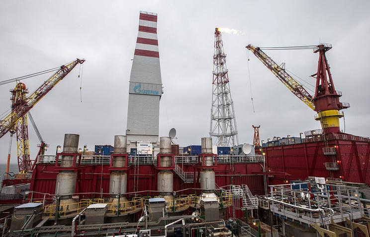 """Ледостойкая нефтяная платформа """"Приразломная"""""""