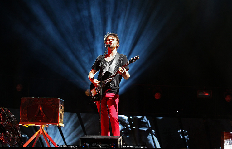 Солист группы Muse  Мэттью Беллами
