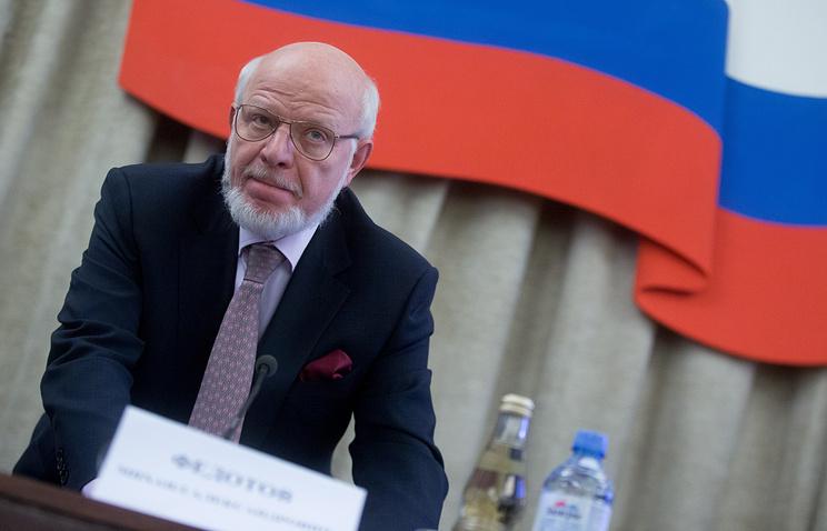 Глава Совета при президенте РФ по развитию гражданского общества и правам человека (СПЧ) Михаил Федотов